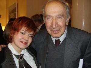 М.И. Романова и Ричард Пайпс